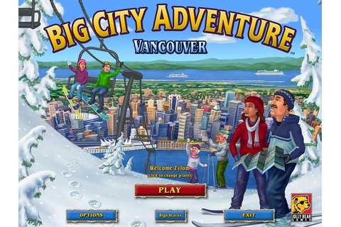 Take a trip with the Big City Adventure games on GameHouse ...