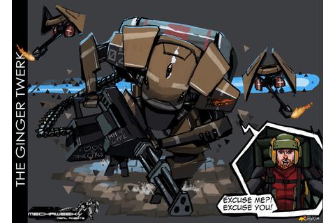 Art of Mechaweek Part 5: Mech Development II... - Dividing ...