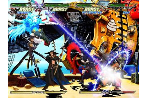 Guilty Gear Isuka (2004) by Arc System Works Arcade game