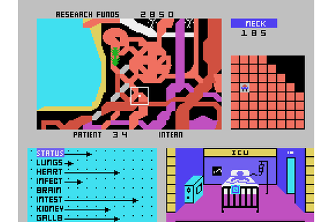 Microsurgeon (1983) by Imagic TI99 game