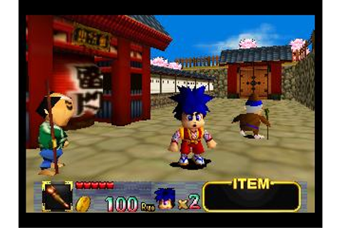 Mystical Ninja Starring Goemon Nintendo 64 Game