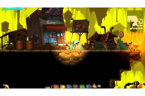 SteamWorld Dig - Half Life 3 Secret - YouTube
