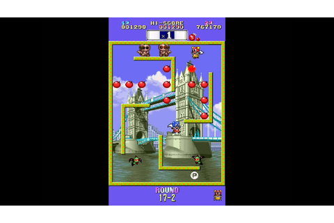Bomb Jack Twin 2 player arcade game - YouTube