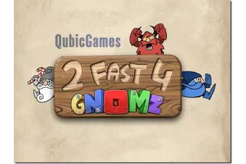 "QubicGames' ""gnome runner,"" 2 Fast 4 Gnomz on sale for 3DS ..."