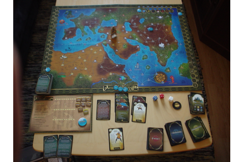 Board Games for One: Tales of the Arabian Nights