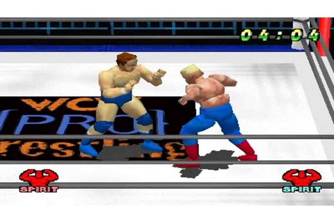 WCW vs The World PS1 1080P HD Playthrough - WCW TITLE ...