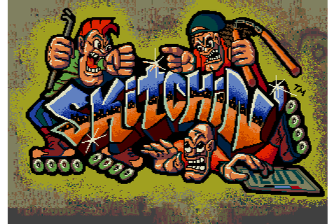 Super Adventures in Gaming: Skitchin' (Genesis/Mega Drive)