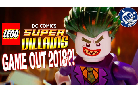 LEGO DC Super Villains Game Out 2018! - YouTube