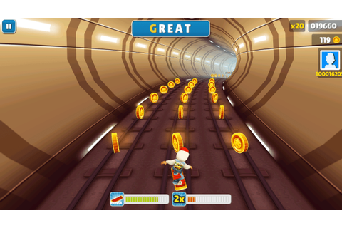 Subway Surfers (PC) Game Free Download | BiggTrixS