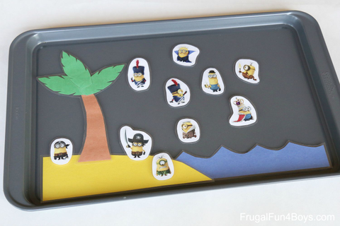 Magnetic Cookie Sheet Games (For Travel or Learning Time ...
