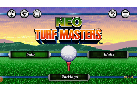 NEO TURF MASTERS – Games for Android. NEO TURF MASTERS ...