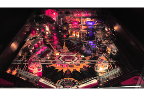 Data East Laser War Pinball Game Play and Attract Mode ...