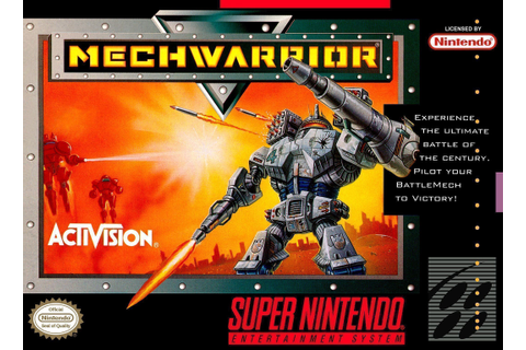 Mechwarrior - Super Nintendo(SNES) ROM Download