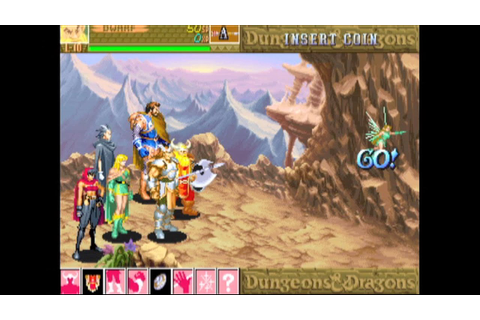 Dungeons & Dragons: Shadow over Mystara (Arcade Game ...