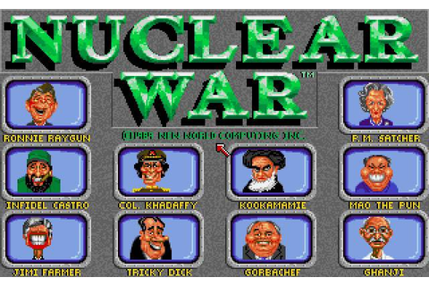 Download Nuclear War - My Abandonware