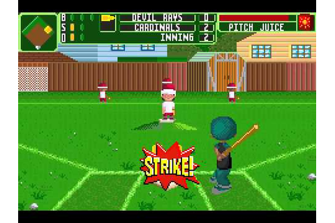 Backyard Baseball 2006 (GBA) - Season Game 2 - YouTube