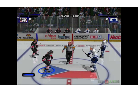 NHL Hitz 2003 - Gameplay PS2 HD 720P - YouTube