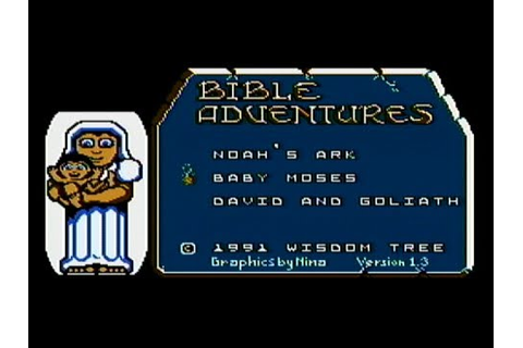 Bible Adventures - NES Gameplay - YouTube