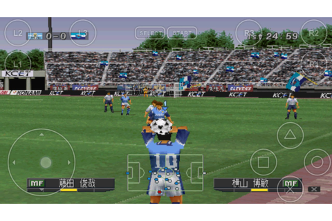 Android PlayStation1 PS1 Emulator FPse J League Jikkyou ...