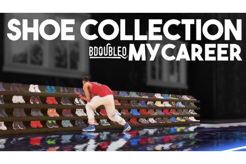 NBA 2K16 My Career Shoe Collection & College Game 2 - YouTube