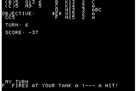 Download Tanktics (Apple II) - My Abandonware