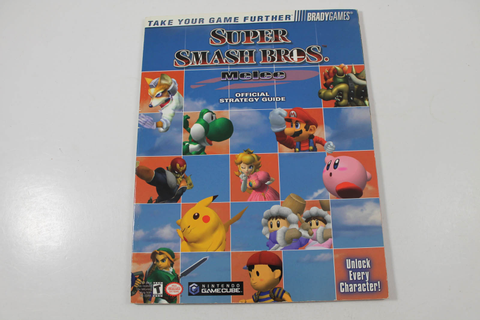 Super Smash Bros: Melee Official Strategy Guide - Brady Games