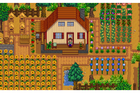 Stardew Valley an upcoming open-ended country-life RPG!