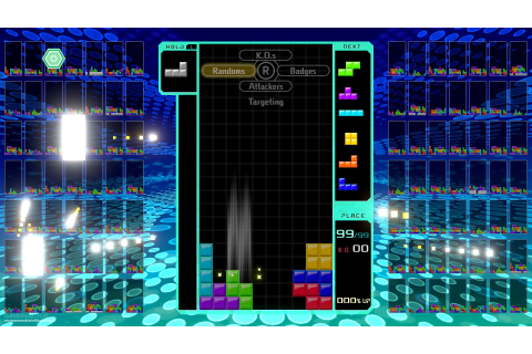 Pictures of Tetris 99