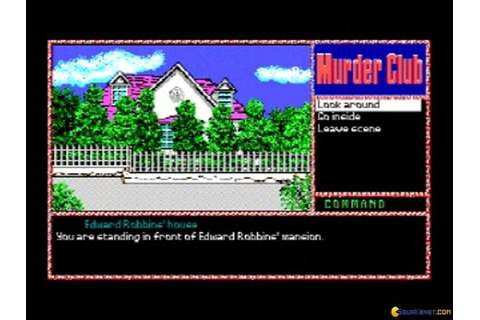 J.B. Harold In: Murder Club download PC