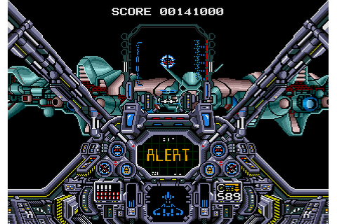 Air Diver (1990) by Copya System Mega Drive game