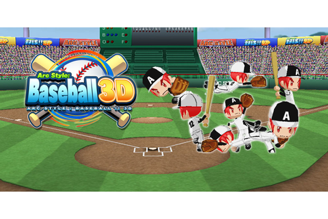 ARC STYLE: Baseball 3D | Nintendo 3DS download software ...