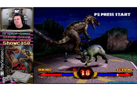Warpath: Jurassic Park - 1999 - PlayStation fighter! - YouTube