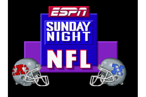 ESPN Sunday Night NFL Screenshots | GameFabrique