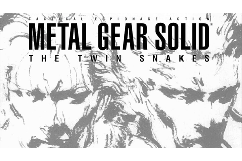 Metal Gear Solid: The Twin Snakes - Game Movie - YouTube