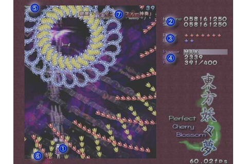 Perfect Cherry Blossom/Gameplay - Touhou Project Wiki