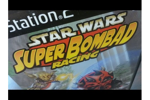 Classic Game Room - STAR WARS: SUPER BOMBAD RACING review ...