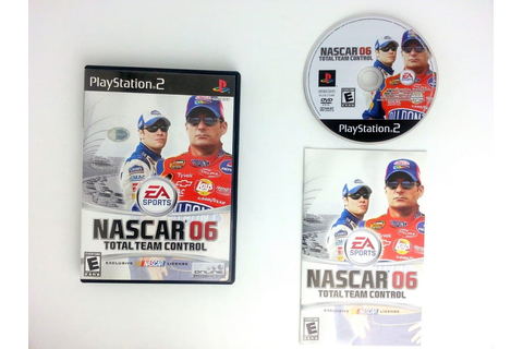 NASCAR 06 Total Team Control game for Playstation 2 ...