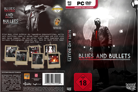 Blues and Bullets PC Box Art Cover by AHO