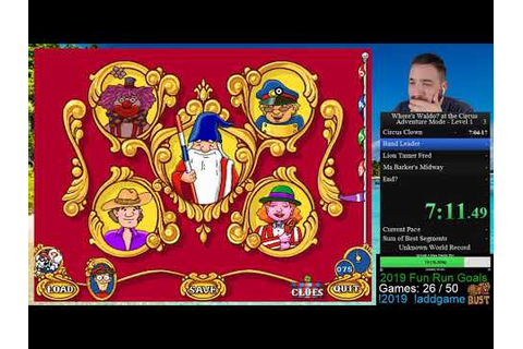 Where's Waldo? At The Circus (Games Mode - Level 1) - YouTube