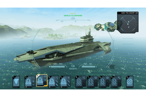 Carrier Command: Gaea Mission Review (360) – The Average Gamer