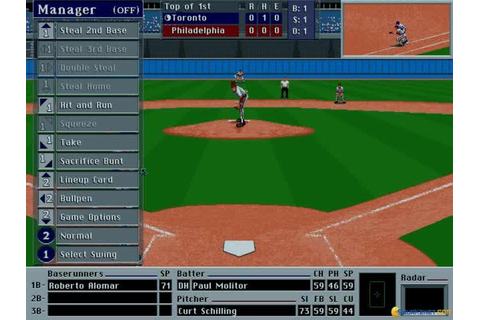 Front Page Sports: Baseball Pro '95 (1992) - PC Game