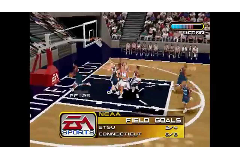 NCAA March Madness 2000 ... (PS1) - YouTube