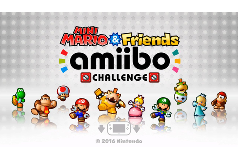 Mini Mario and Friends amiibo Challenge Launching April ...