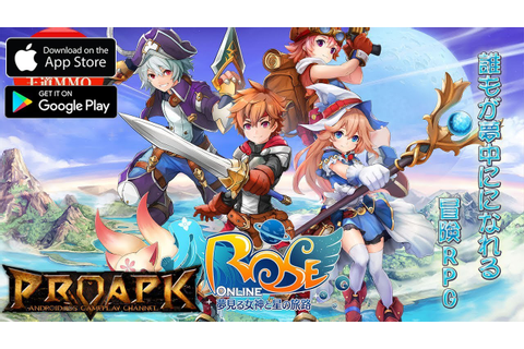 ROSE Online Mobile Gameplay Android / iOS (Open World ...