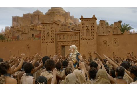 Game of Thrones Morocco Film Locations including Yunkai ...