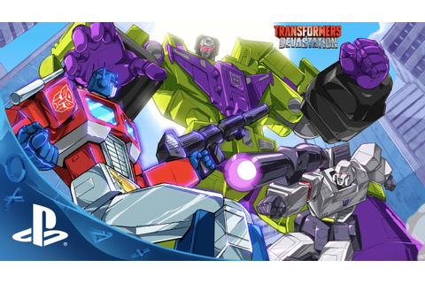 TRANSFORMERS: Devastation - Video Game Teaser Trailer ...