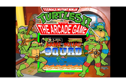Teenage Mutant Ninja Turtles II: The Arcade Game - NES 2 ...