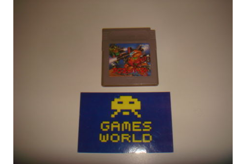 Japanese Game Boy : Games World Bodmin, The Video Games ...