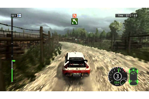 WRC FIA 2010 World Rally Championship (PC): DEMO Gameplay ...