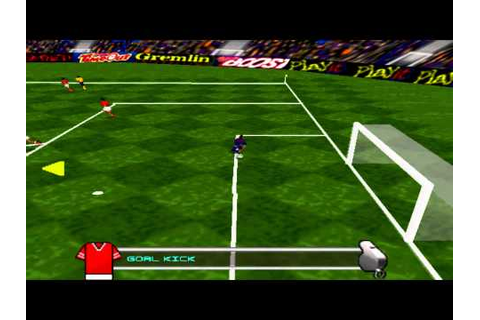Pro Evolution Soccer (2001) Gameplay - PSX,PSONE,PlaySt ...